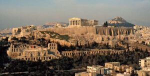 Acropolis City State Greece Athens